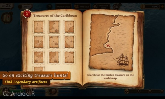 دانلود Ships of Battle Age of Pirates 1.60 بازی کشتی های دزدان دریایی اندروید