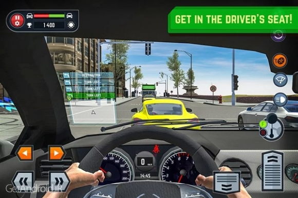 دانلود Car Driving School Simulator 1.6 بازی شبیه ساز آموزشگاه رانندگی اندروید