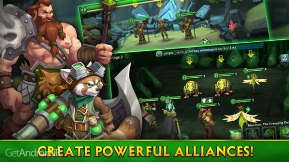 دانلود Alliance: Heroes of the Spire 63839 بازی قهرمانان اسپیر اندروید