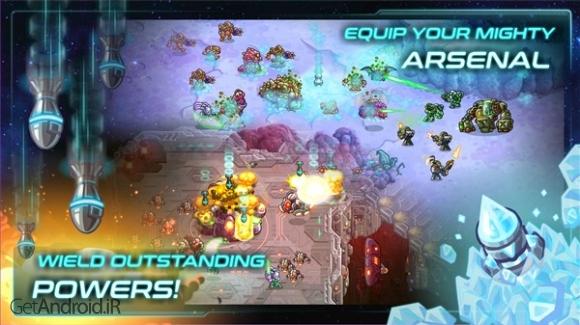دانلود Iron Marines 1.1.4 بازی استراتژیک تفنگداران آهنی اندروید