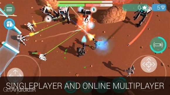 دانلود CyberSphere Online 1.4.4 بازی اکشن بدون دیتا اندروید