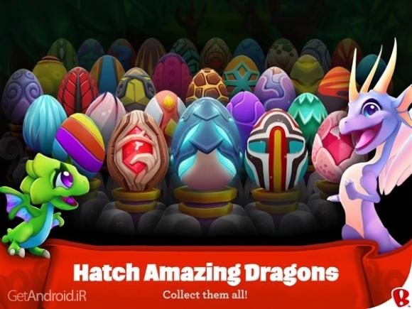 دانلود DragonVale World 1.22.0 بازی دنیای دره اژدها اندروید