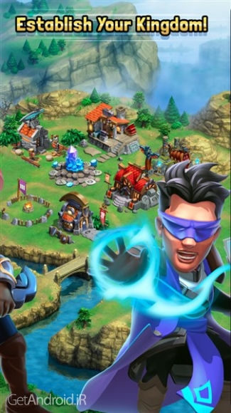 دانلود Dragonstone: Kingdoms 1.1.7 بهترین بازی استراتژیک اندروید بدون دیتا