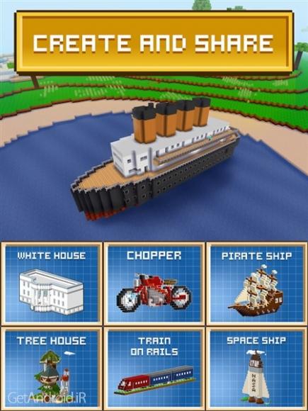 دانلود Block Craft 3D: Building Simulator Games For Free 2.10.0 بازی شبیه ساز ساختمان اندروید