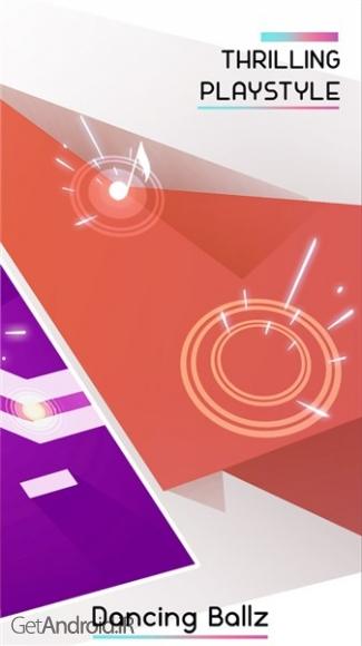 دانلود Dancing Ballz: Music Line 1.3.9 بازی مسیر موسیقی اندروید