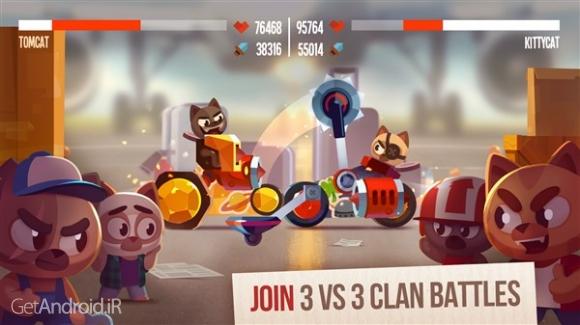 دانلود CATS: Crash Arena Turbo Stars 2.5.1 بازی اکشن نبرد گربه ها اندروید