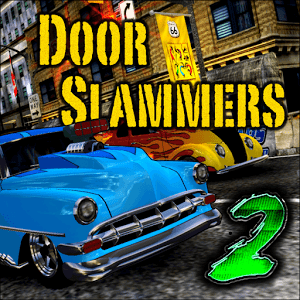 دانلود Door Slammers 2.67 بازی مسابقات ماشین سواری جدید اندروید