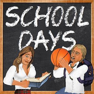 دانلود School Days 1.160 بازی شبیه ساز مدرسه اندروید