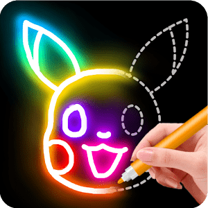 Learn to Draw Glow Cartoon