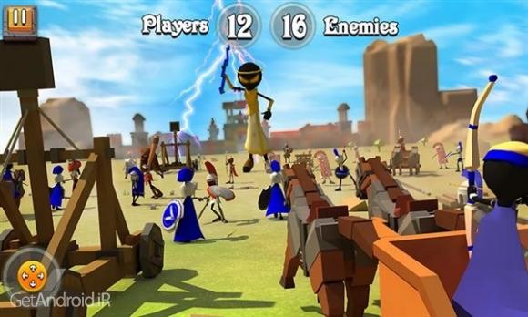 دانلود Greek Warriors : Castle Defence 3.1 بازی دفاع از قلعه اندروید