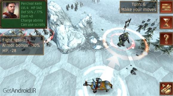 دانلود Hex Commander: Fantasy Heroes 3.0 بازی استراتژیک فرمانده اندروید