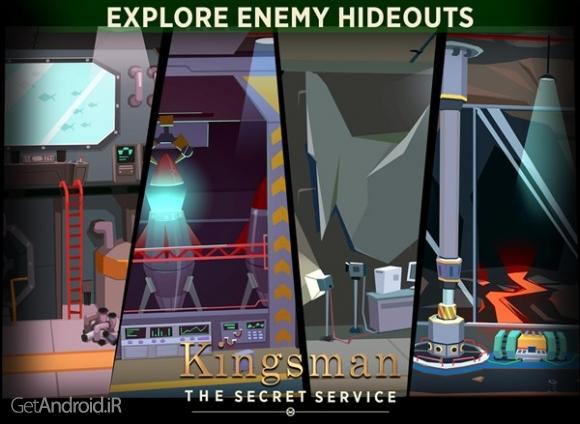 دانلود Kingsman - The Secret Service 0.9.14 بازی اکشن تیر اندازی بدون دیتا اندروید