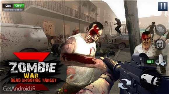 دانلود The Final Battleground : Dead Zombie Battle 1.0 بازی جنگ با زامبی ها اندروید