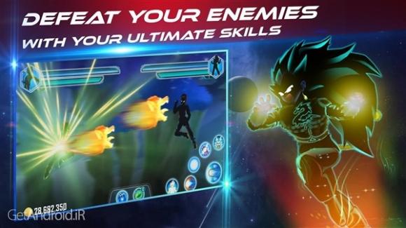 دانلود Dragon Shadow Battle Warriors: Super Hero Legend 1.5.8 بازی نبرد جنگویان اژدها اندروید