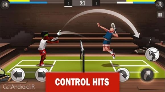 دانلود Badminton League 1.9.3108 جدیدترین بازی بدمینتون اندروید