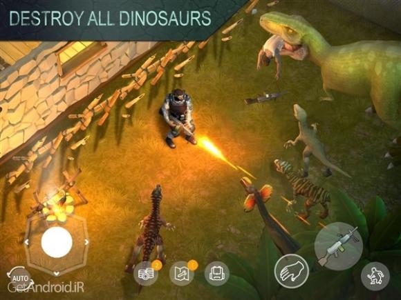 دانلود Jurassic Survival 1.0.4 بازی بقا در ژوراسیک اندروید