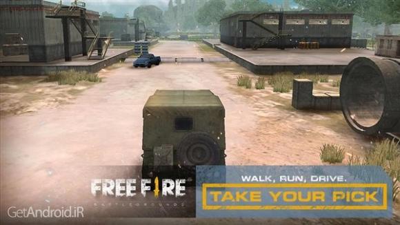 دانلود Free Fire – Battlegrounds 1.7.16 بازی میدان نبرد اندروید