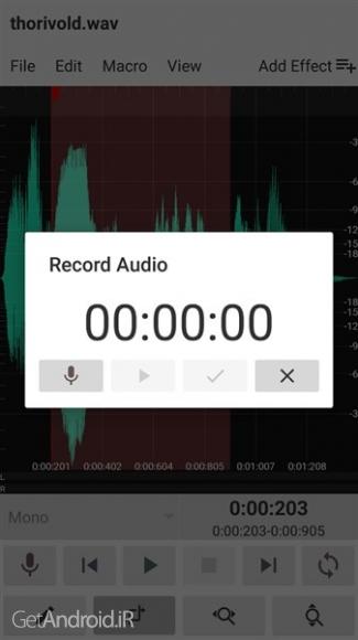 دانلود WavStudio™ Audio Recorder & Editor v1.0 b34 [Pro] نرم افزار ضبط و ویرایشگر صدا اندروید