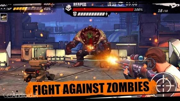 دانلود Zombie Crisis 1.8.3106 بازی زامبی کشی برای اندروید