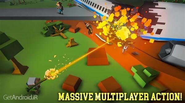 تصویر از دانلود Grand Battle Royale v3.5.1 بازی تفنگی بدون دیتا برای اندروید