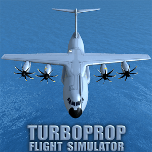Turboprop Flight Simulator 3D اندروید APK