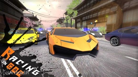 دانلود Racing In Car 3D v1.2 بازی اتومبیل رانی جدید 2018 اندروید