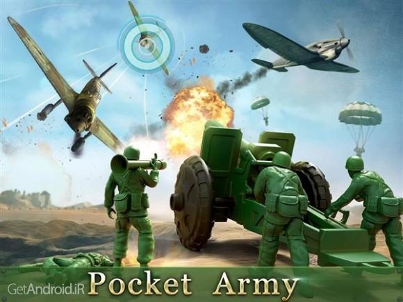 دانلود Army Men Strike 2.50.2 بازی استراتژیک اعتیاد آور  اندروید