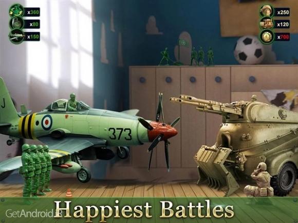 دانلود Army Men Strike 2.28.5 بازی استراتژیک اعتیاد آور  اندروید
