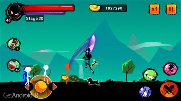 دانلود Stickman Ghost: Ninja Warrior 1.3 بازی ادمک های جنگجو اندروید