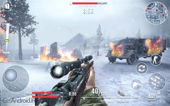 دانلود Call of Sniper WW2: Final Battleground 1.4.1 بازی نبرد در میدان جنگ اندروید