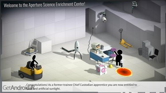 دانلود Bridge Constructor Portal 1.3 بازی ساخت پل برای اندروید