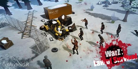 دانلود WarZ: Law of Survival 1.3.3 بازی قانون بقا اندروید