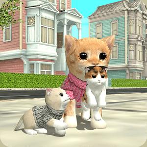 دانلود Cat Sim Online: Play with Cats 3.4 بازی شبیه ساز گربه اندروید