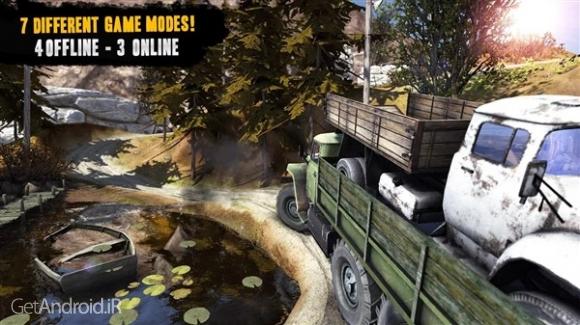 دانلود Truck Evolution : Offroad 2 v1.07 بازی کامیون های آفرود اندروید