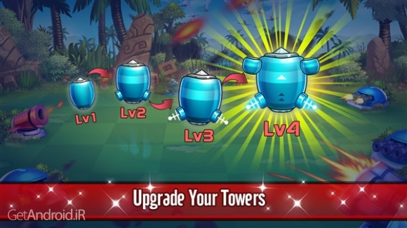 دانلود Tower Defense: Battle Zone 1.1.7 بهترین بازی برج دفاعی اندروید