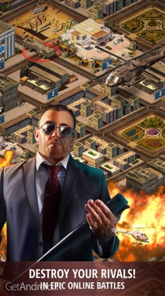 دانلود Mafia Empire: City of Crime 4.3 بازی امپراطوری مافیا اندروید