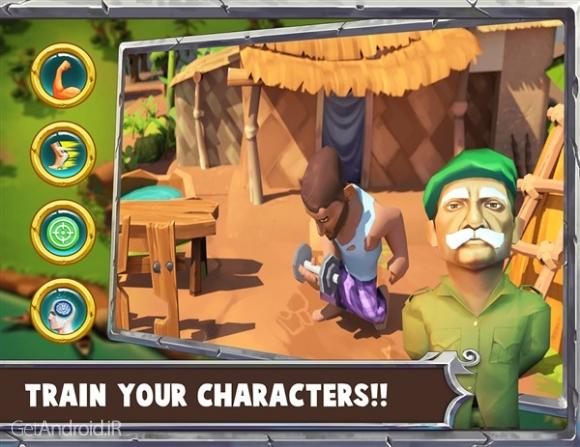 دانلود Mukti Camp 1.00 بازی حمله به اردوگاه اندروید