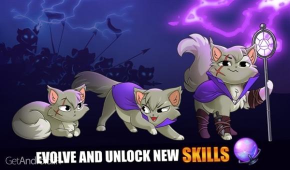 دانلود Castle Cats: Epic Story Quests 1.7.1 بازی قلعه گربه ها اندروید