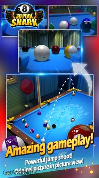 دانلود Pool Shark 3D 1.1602 بازی بیلیارد 2018 اندروید