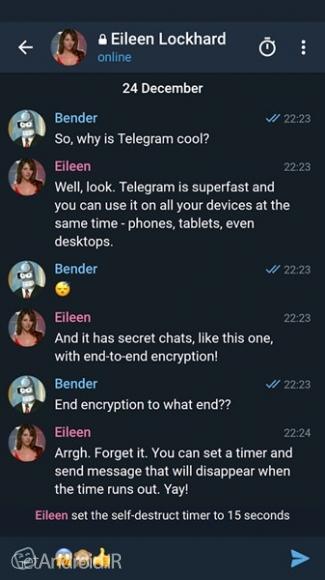 دانلود تلگرام ایکس Telegram X 0.21.0.992 برنامه تلگرام سریع با امکانات بیشتر اندروید
