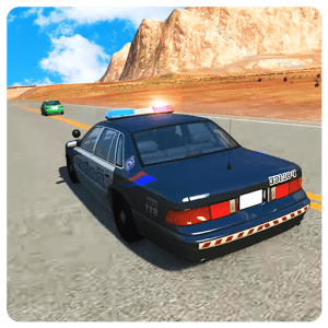 Police Car: Real Offroad Driving Game Simulator 3D icon