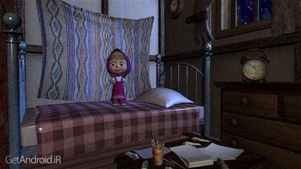 دانلود Masha and the Bear: Good Night 1.3.4 بازی ماشا و خرس برای اندروید