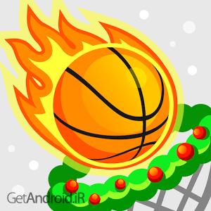 دانلود Dunk Shot 1.7.9 بازی بسکتبال کم حجم بدون دیتا برای اندروید
