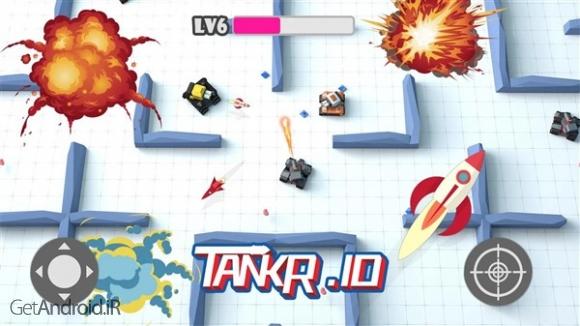 دانلود Tankr.io 2.5 بازی نبرد تانک ها برای اندروید