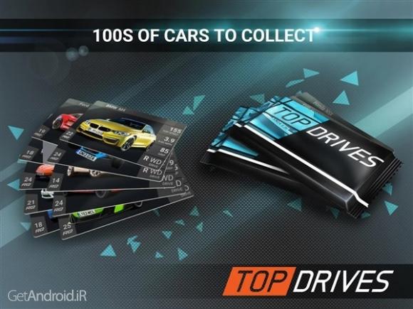 دانلود Top Drives 1.51.00.7396 بازی اتومبیل رانی برای اندروید
