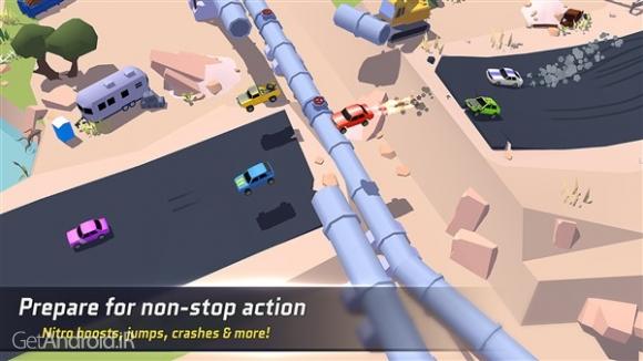 دانلود SkidStorm 1.0.84 بازی اتومبیل رانی انلاین برای اندروید