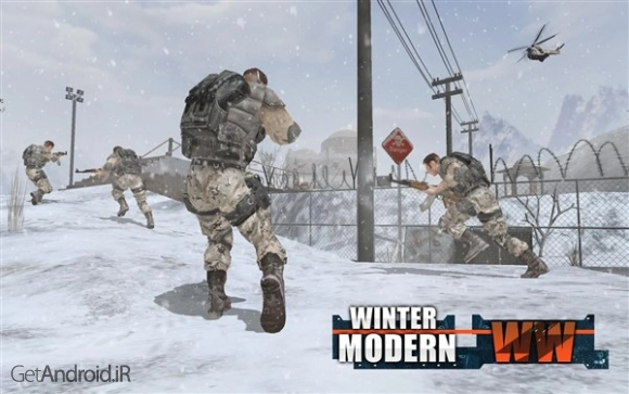 دانلود بازی Rules of Modern World War Winter FPS Shooting Game اندروید