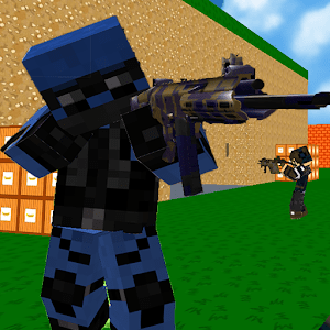 Blocky Combat SWAT icon