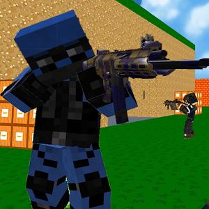 دانلود Blocky Combat SWAT 1.29 بازی نبرد بلوکی اندروید