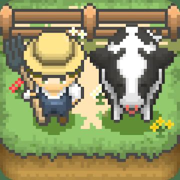 دانلود Tiny Pixel Farm - Simple Farm Game 1.2.2بازی شبیه سازی مزرعه برای اندروید